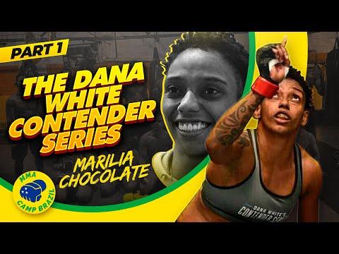 "Marilia ""Chocolate"" Santos - Road to the Contender Series (Partie 1)"